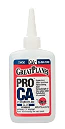 GREAT PLANES Pro CA- Glue 2 oz Thick GPMR6015 by Great Planes