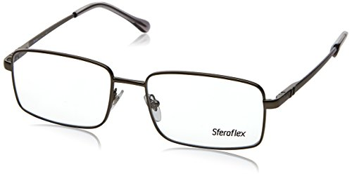 glass Frames 231-55 - Matte Gunmetal Frame, Demo Lens SF2248-231-55 ()