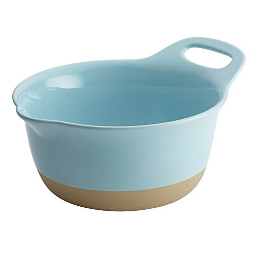 (Rachael Ray 47493 Copenhagen Cozy Mixing Bowl 3 Quart Light Blue)