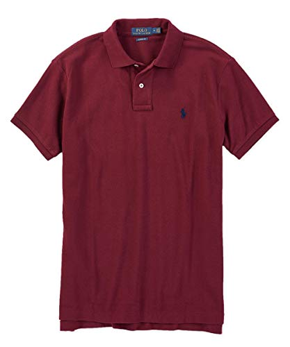 Polo Ralph Lauren Big & Tall Polo Shirt ((XXXX-Large Tall, Classic Wine) (Best Price Embroidered Polo Shirts)