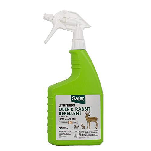 Safer Ready-to-Use Brand 5981 Critter Ridder Deer & Rabbit Repellent RTU - 32 oz