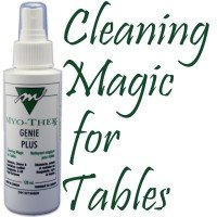 Myo-Ther Genie Plus 160 Wipes- Cleaning & Disinfecting Magic for Massage Tables Paradel