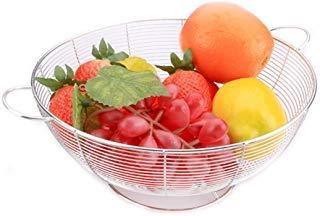 952 Tub - YHYGOO Stainless Steel Fruit Basket Laundry Basket Bathtub Net Non-Magnetic Leaking Basket Fruit and Vegetable Basket