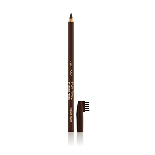3 Pack JORDANA Fabubrow Eyebrow Pencil – Dark Brown
