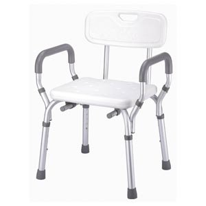 BATH BENCH W/ARMS & BACK B3011 1 per pack by ESSENTIAL MEDICAL ***