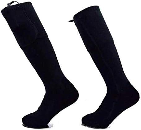 電気靴下 加熱された靴下 冬 炭素繊維フィラメント熱 ユニセックス暖房靴下45度(バッテリーなし) スポーツアウトドアソックス 電気暖房フットウォーマー