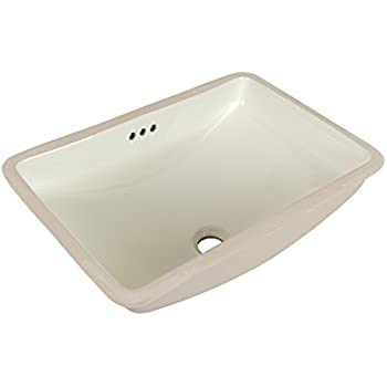 Maykke Bristol 20 Quot X 14 Quot Ceramic Undermount Bathroom