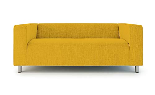 TLYESD Replace Cover for IKEA 2 Seater Klippan Loveseat Sofa,Polyester Fabric Slipcover