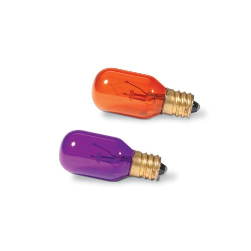 Department 56 Replacement Orange and Purple Light Bulbs (Set of - 56 Department Building