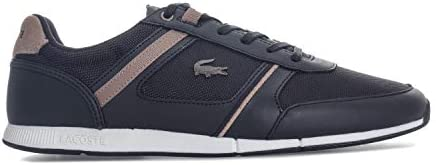 Men Size UK 7 EUR 40.5 Light Grey Tan NEW 2019 Lacoste MENERVA 218 1 JD CAM ®
