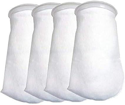 Namvo - 4 sacchetti filtranti per acquario, 200 micron, 200 micron
