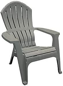 ADAMS MFG PATIO FURN 8371-13-3900 Gray Adirondack Chair