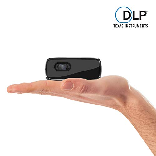 Philips PicoPix Micro, LED DLP, 1h30 Battery Life, Wi-Fi Screen Mirroring