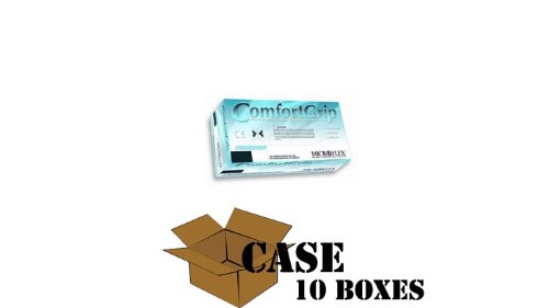 Microflex Gloves ComfortGrip Powder Free Latex - Case Size Medium