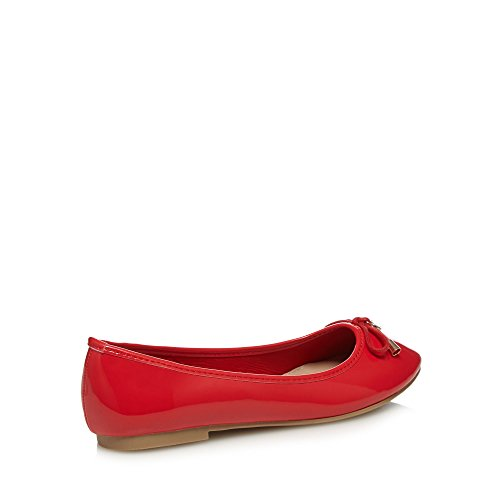 Debenhams Fit Collection 'Carrina' Wide Womens Pumps Red The rwqrg4