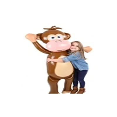 "Rhode Island Novelty 67"" Monkey Inflate: Toys & Games"