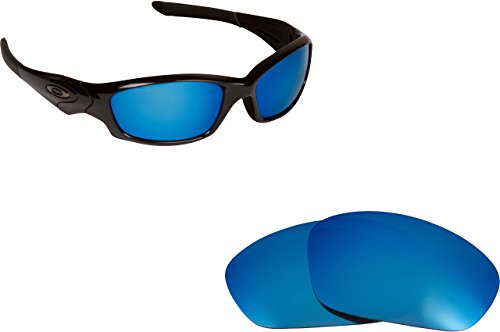 New SEEK Replacement Lenses Oakley STRAIGHT JACKET - Polarized Blue