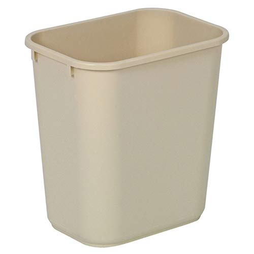 Wastebaskets Standard (United Solutions Highmark Standard Wastebasket, 3 1/4 Gallons, Beige)