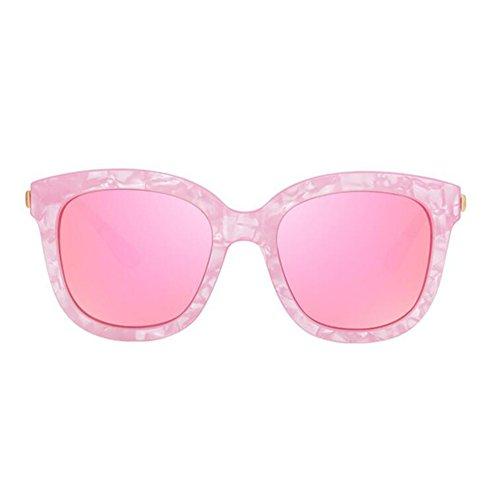 Sunny HONEY Lunettes de soleil polarisées colorées pour femmes Haute qualité - Protection solaire anti-UV 5 couleurs (Couleur : 2) rMmWpi
