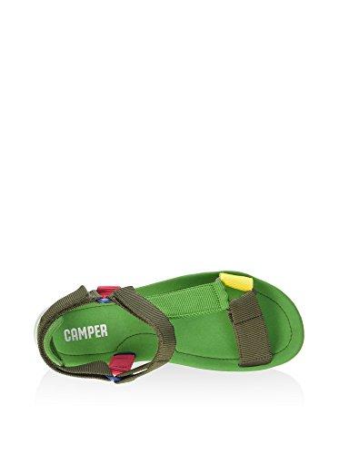 Camper Oruga Web - Sandalias Mujer Verde