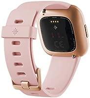 Fitbit Versa 2, el smartwatch que te ayuda a mejorar la salud y la forma física, y que incorpora control por voz, puntuación del sueño y música, Rosa ...