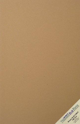 100 Brown Kraft Fiber 70# Text (NOT card/cover) Paper Sheets - 11