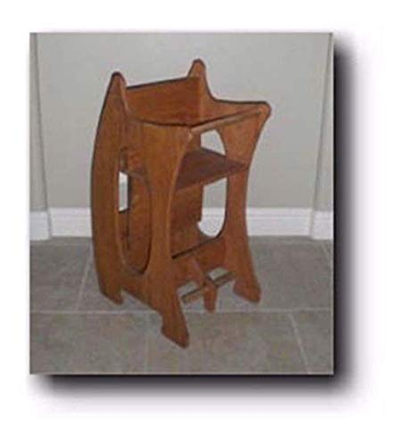 - 3 in 1 High Chair - The Baby Sitter Woodworking Plans