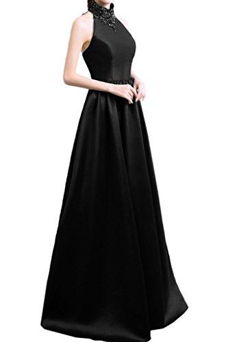 Missdressy - Vestido - plisado - para mujer negro
