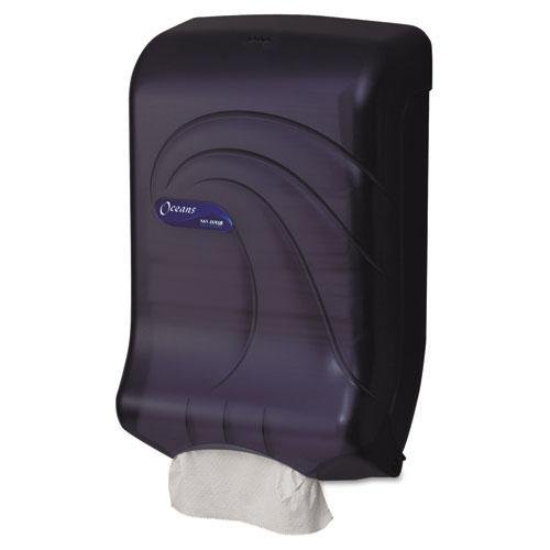 SJMT1790TBK - San Jamar Oceans Ultrafold Towel Dispenser