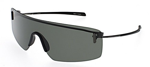 c337f0676fb2 Porsche Design P8482 Flat Dark Grey Frame Green Lens Titanium Sunglasses   Amazon.co.uk  Clothing