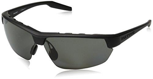 (Native Eyewear Hardtop Ultra Polarized Sunglasses, Matte Black Frame )