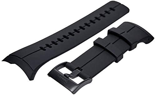 SUUNTO(スント) 交換ストラップ SUUNTO SPARTAN ULTRA (スパルタン ウルトラ) ウォッチ用 シリコンストラップ [日本正規品 メーカー保証] SS022687000 SS022687000 ブラック