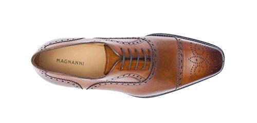 Magnanni Men's Santiago Oxford,Catania Cognac,11.5 M US
