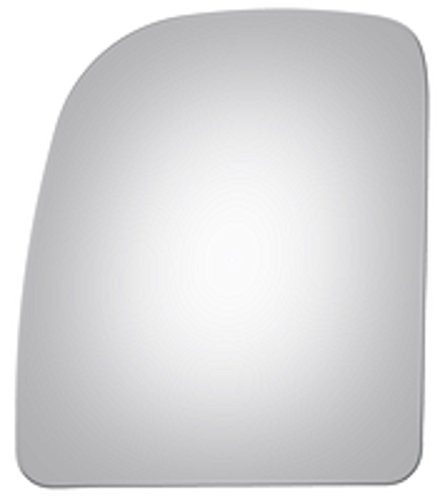 Mirrex 71211 For 2002-2015 Driver/Left Side Replacement Fitting Ford Econoline E-350 E-450 Super Duty Mirror Glass Upper Flat W/O Backing Plate