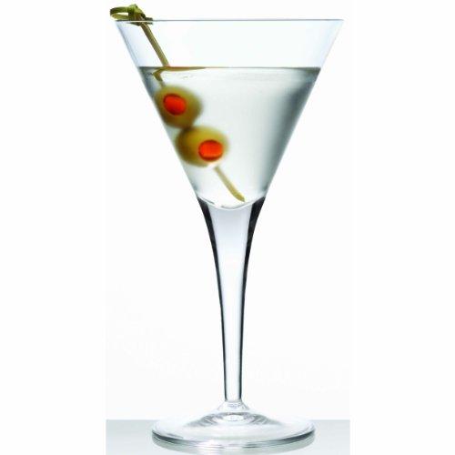 Luigi Bormioli Michelangelo Martini Glass, 7-1/4-Ounce, Set of 6 by Luigi Bormioli