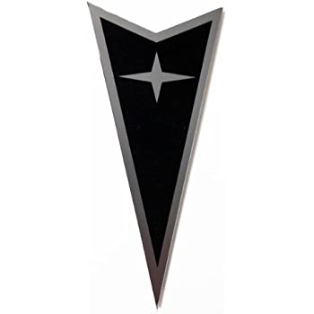 "GTOG8TA LMG2202K1 /""Arrowhead/"" Black Front /& Rear Emblems"
