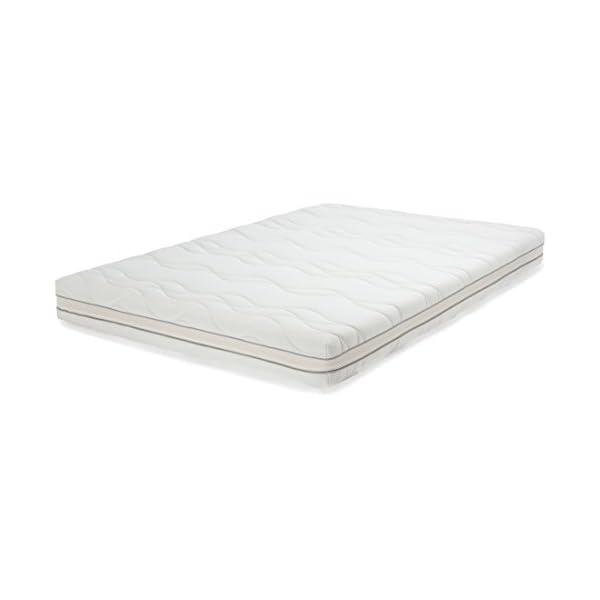 AmazonBasics - Materasso extra comfort a 7 zone in memory foam, Medio (H3) - 80 x 190 cm 4 spesavip
