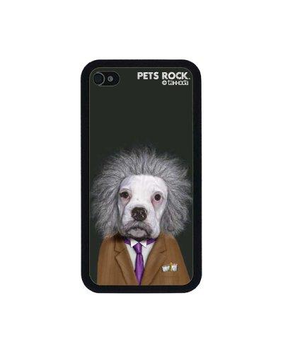 Pets Rock - Custodia Statement in policarbonato, motivo con caricatura antropomorfa (Il cervellone), per Apple iPhone 4/4s