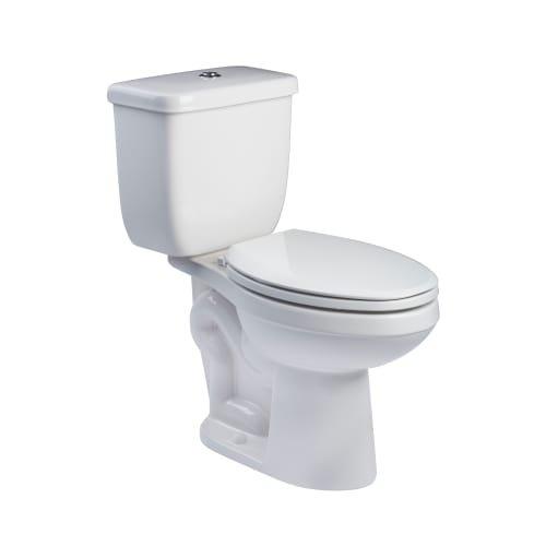 ProFlo PF9312P Amador 1.1/1.6 GPF Dual Flush Push Button Toilet Tank Only, White