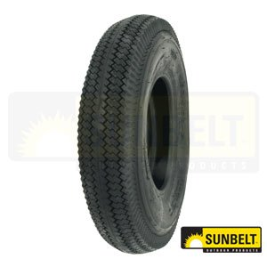 SUNBELT TIRE, 4.80/4.00 -8, 2 PLY, P606 SAWTOOTH PART NO. - 2 Ply Sawtooth