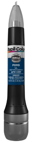 Dupli-Color AFM0359 Deep Wedgewood Ford Exact-Match Scratch Fix All-in-1 Touch-Up Paint - 0.5 oz.