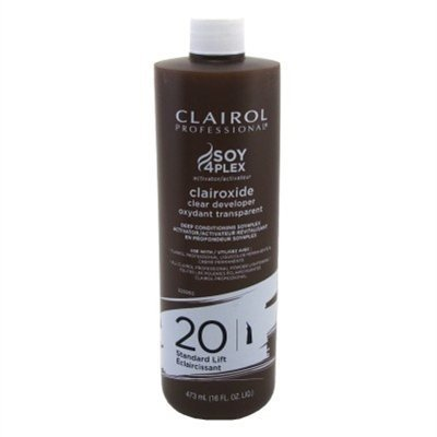 Lift Volume 20 Standard - Clairol Clairoxide 20 Volume 16 Ounce Standard Lift Clear (473ml) (2 Pack)