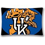 Generic Pillow Case Cover Kentucky Wildcats (Two Sides) - NCAA Personalized Pillowcase Standard Size 20x30 Inch