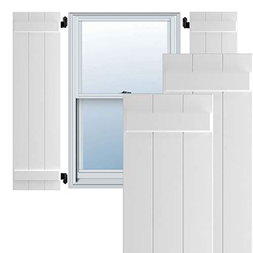 Ekena Millwork CWB15X042WHC Exterior Four Board