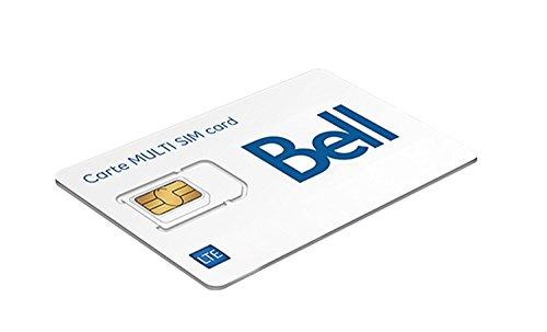 Bell Canada Multi SIM Card (Bell Mobility Canada)