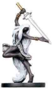 D/&D Miniatures Archfiends CHAMPION OF EILISTRAEE #12 no card
