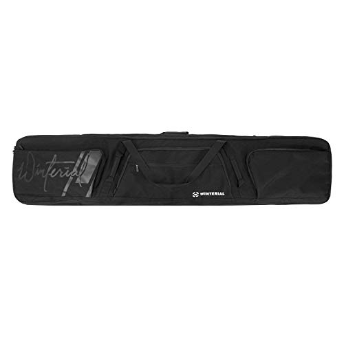 Winterial Double Snowboard Bag with Wheels, Travel Bag with Storage Compartments, Reinforced Double Padding Perfect for Road Trips and Air Travel, Fits 2 ()