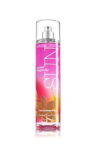 (Bath & Body Works Golden Magnolia SUN Fine Fragrance Mist 8 Fl Oz / 236 Ml)