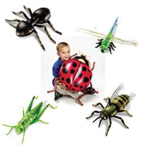 Inflatable Insects (Learning Resources Giant Inflatable Insects (Ladybug/dragonfly/ant/bee/grasshopper); Grades K-4)
