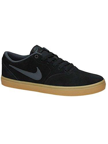Nike 843895-003: Mens SB Check Solar Black Anthracite Gum Brown Skate Sneakers (9.5 D(M) US Men) ()
